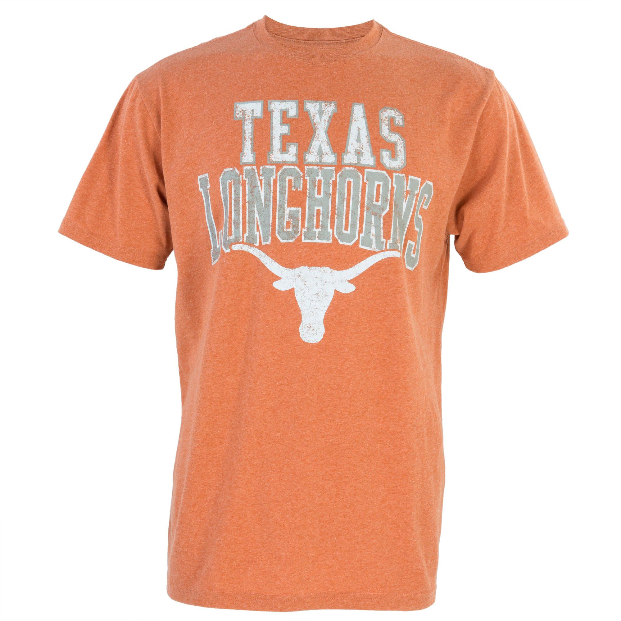 NCAA Texas Longhorns Big Men's Validated Vintage Tee, 2XL