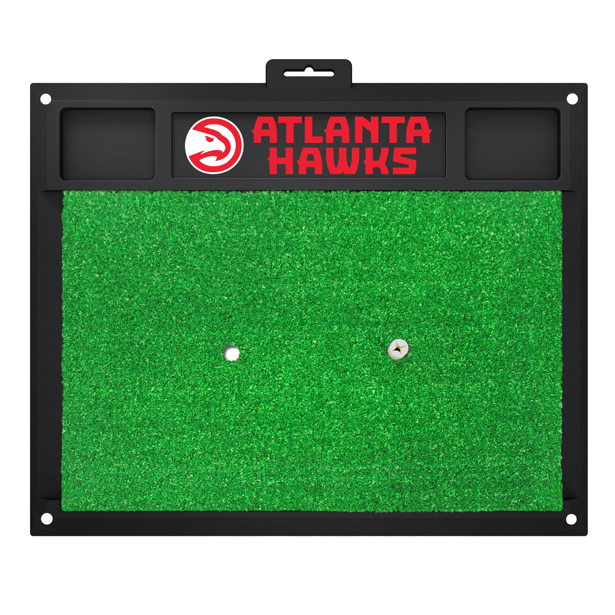 NBA Atlanta Hawks Golf Hitting Mat Golf Practice Accessory