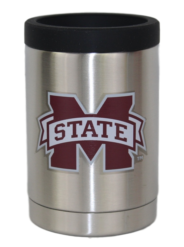 Mississippi State Bulldogs NCAA Stainless Steel Insulated 12oz Jacket with Seal by Gametime Sidekicks