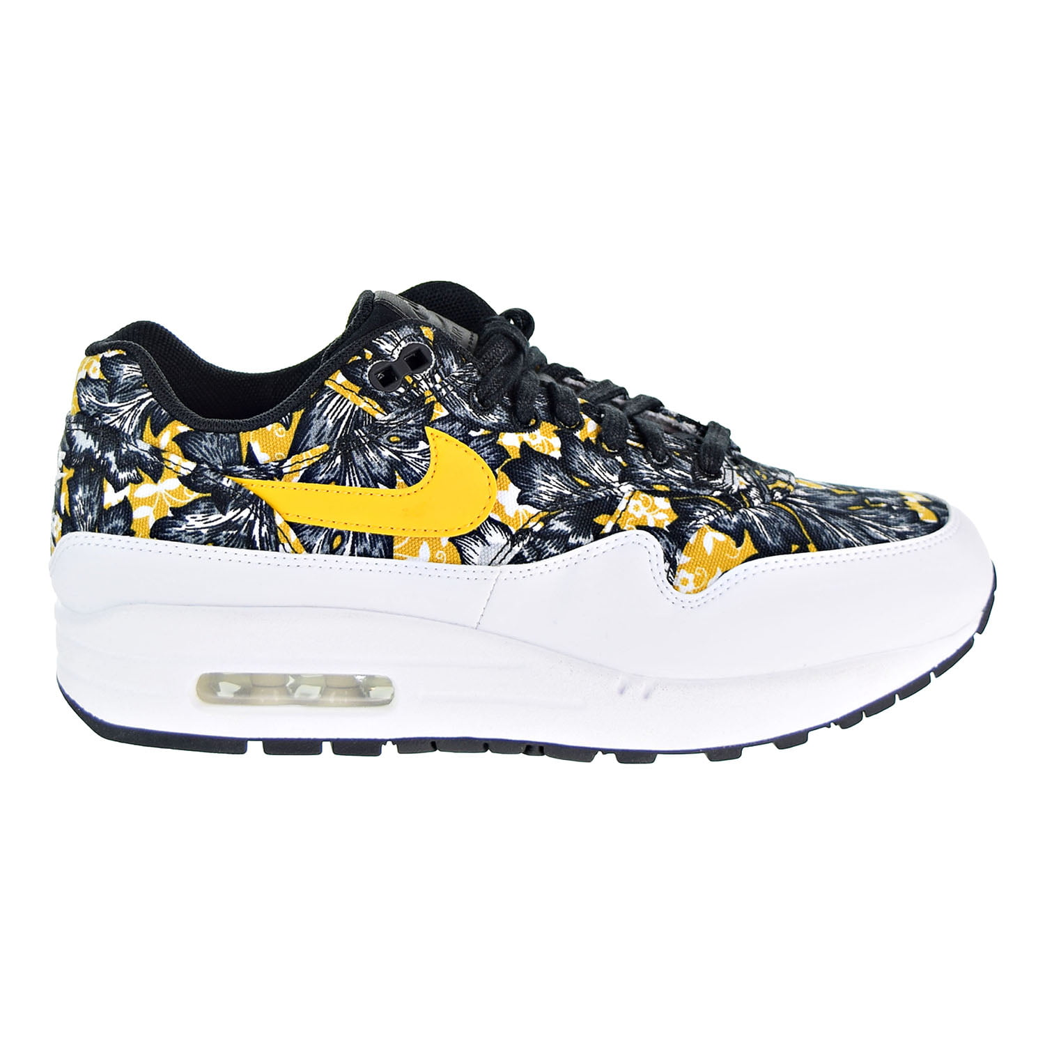 purchase cheap 385e9 b1384 ... where to buy nike air max 1 qs womens shoes white university gold black  633737 100