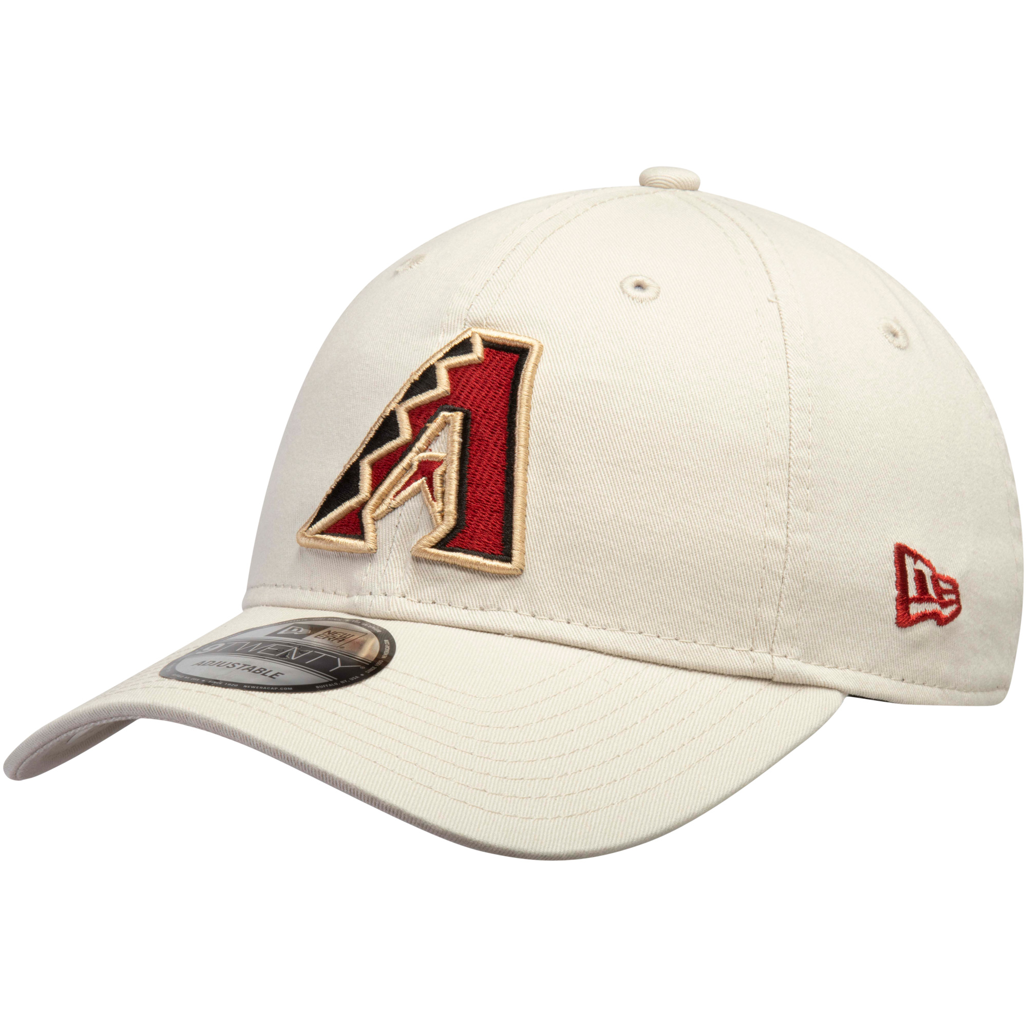 Arizona Diamondbacks New Era Core Classic Twill 9TWENTY Adjustable Hat - Tan - OSFA