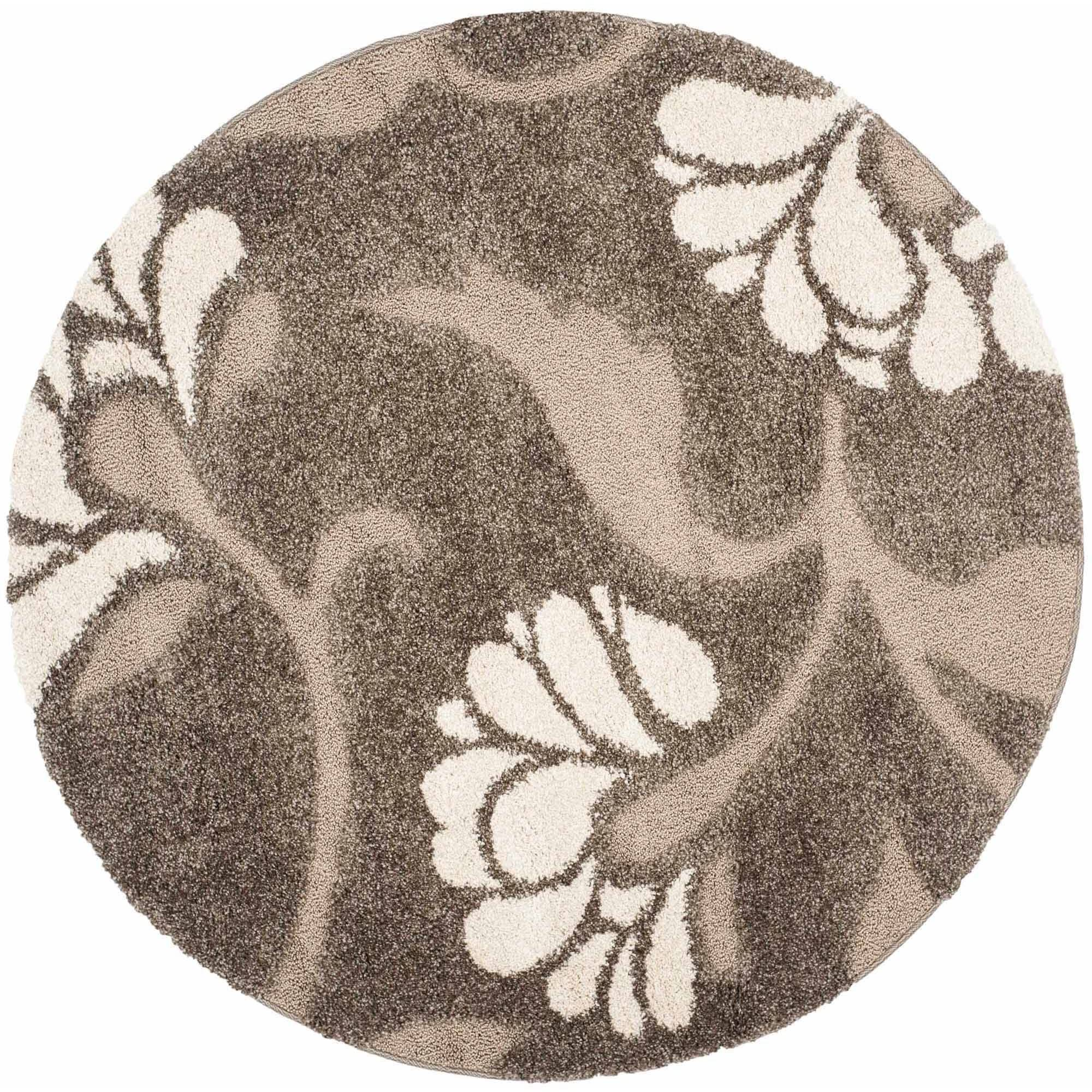 Safavieh Florida Teodor Floral Shag Area Rug or Runner by Safavieh