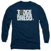 Judge Dredd - Logo - Long Sleeve Shirt - Small