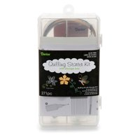 Quilling Kit With Storage Box Strips Tweezer Comb Ruler Guid