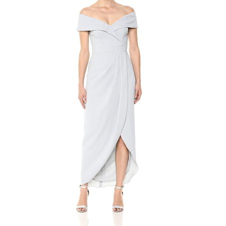 29480e9f Xscape - Xscape Womens Off Shoulder Tulip Hem Gown Dress - Walmart.com