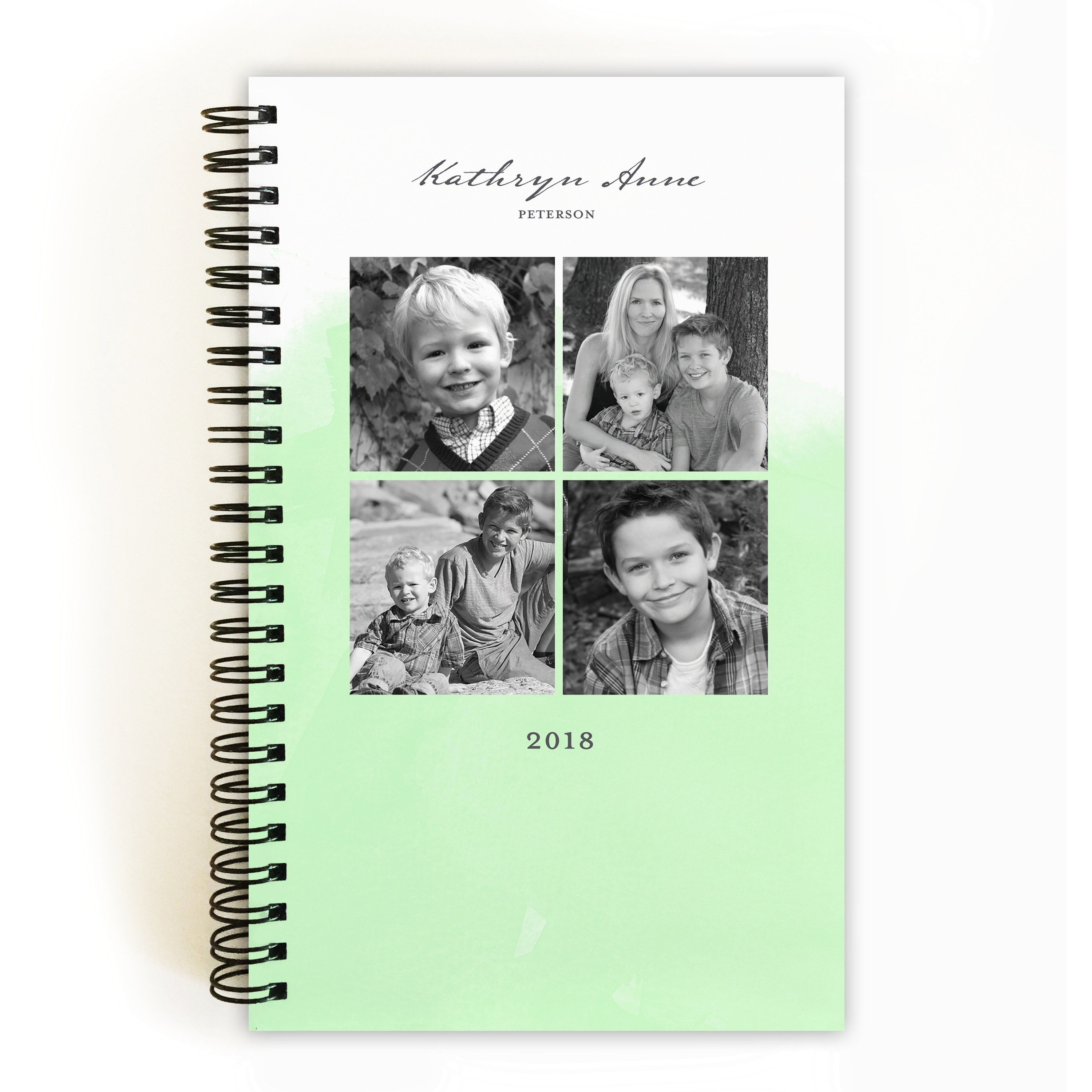 Watercolor Note - Personalized 5 x 8 Notebook