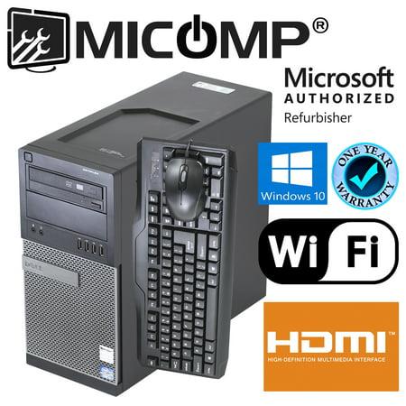 Refurbished Dell (Optiplex 790) 790 Tower  WiFi HDMI Quad Core i5-2400 3.10Ghz 8Gb 500Gb Windows 10 64 Bit