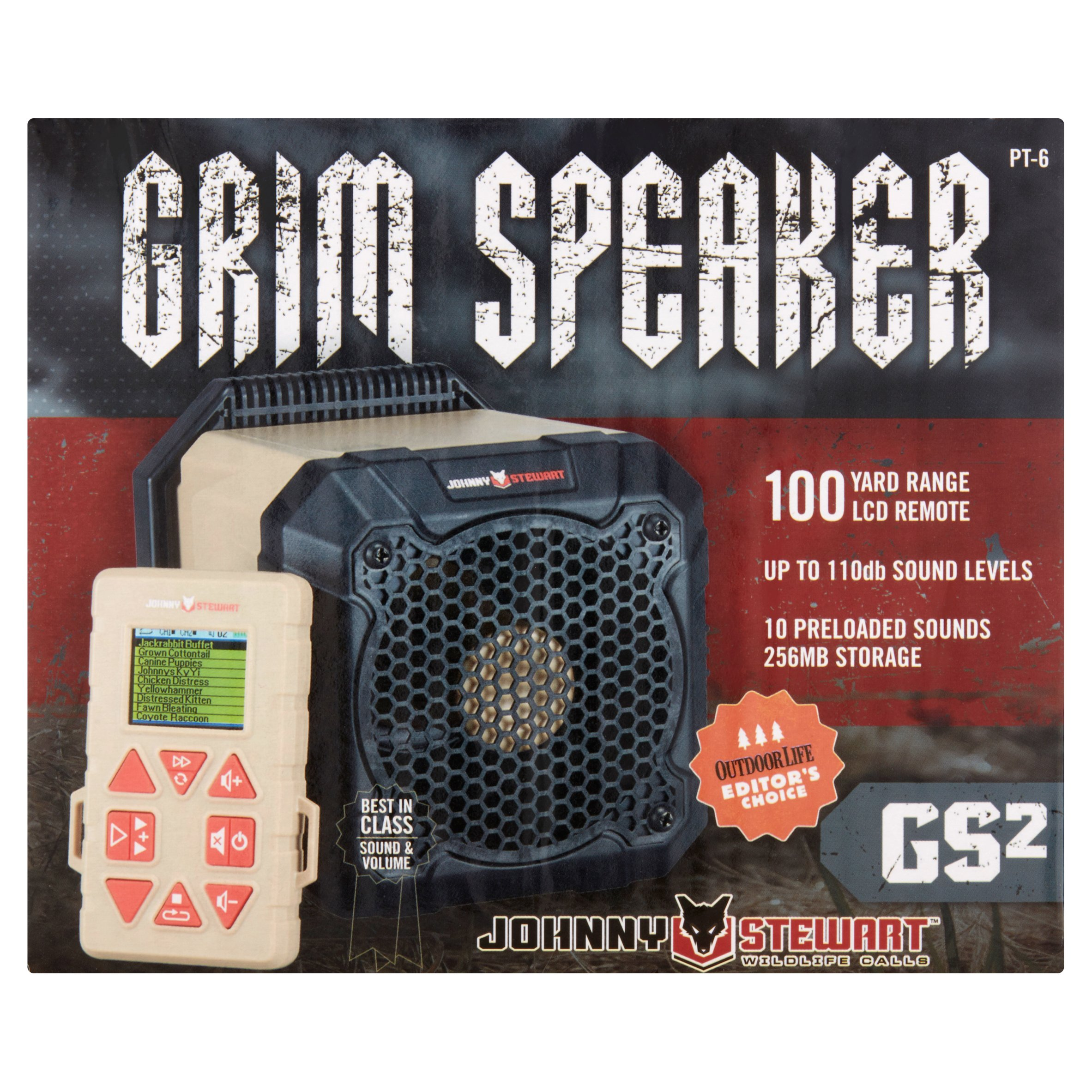 Johnny Stewart GS2 Grim Speaker Electronic Predator Call