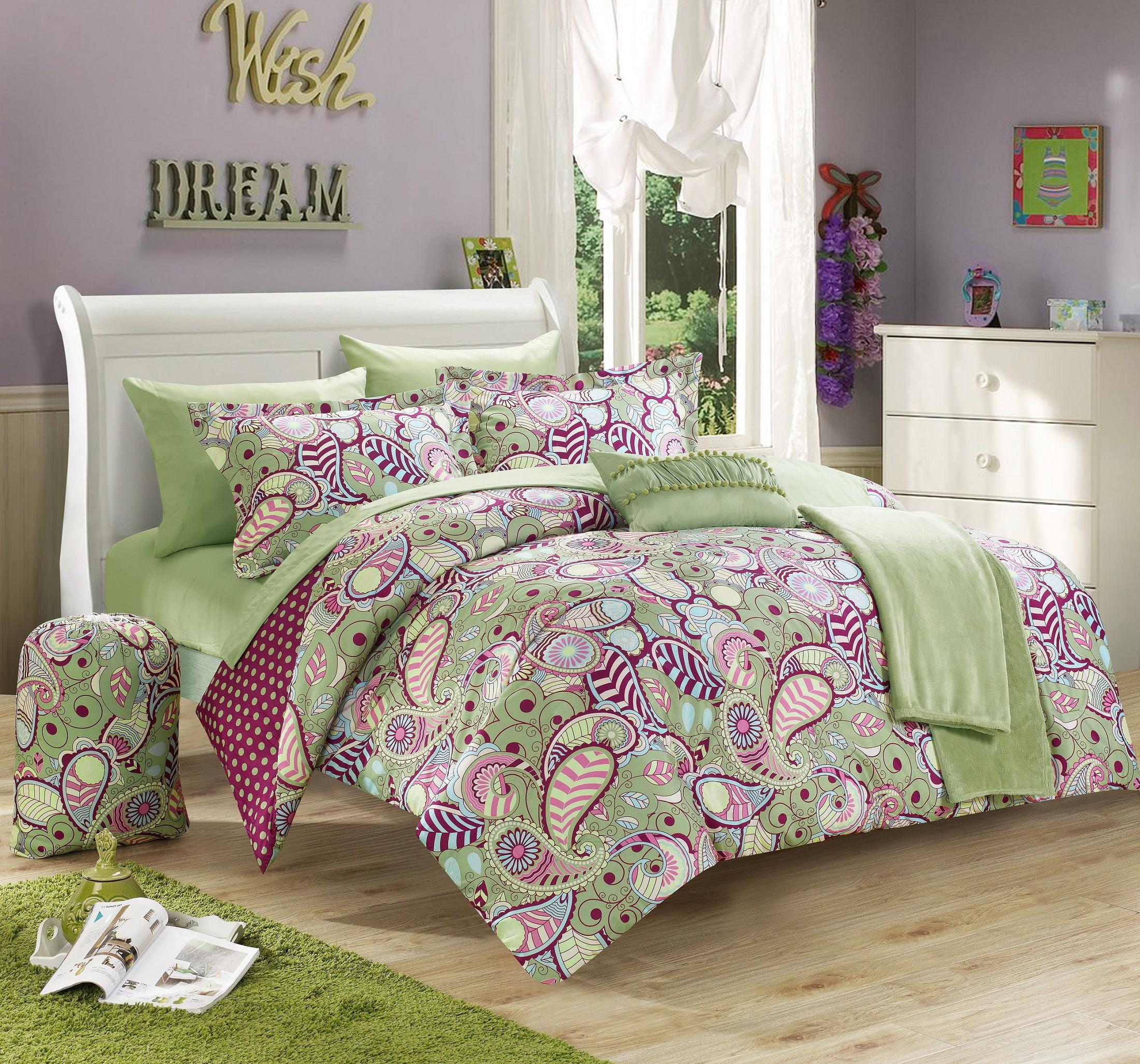 Chic Home Duchess 10 Piece Reversible Comforter Set