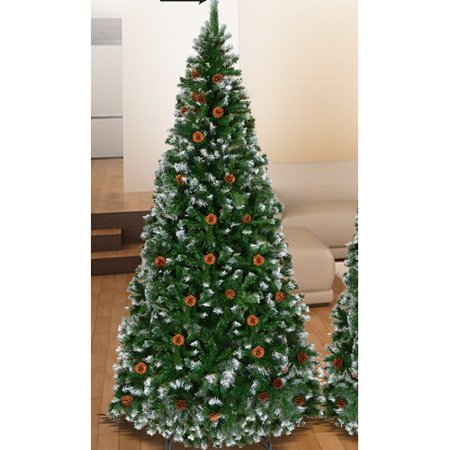 The Holiday Aisle Snow Tipped 6' Green Pine Artificial Christmas Tree -  Walmart.com - The Holiday Aisle Snow Tipped 6' Green Pine Artificial Christmas