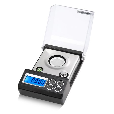 High Precision Professional Digital Milligram Scale 20g/0.001g Mini Electronic Balance Powder Scale Gold Jewelry Carat Scale Digital Weight with Calibration Weight Tweezer and Weighing (Best Balance Beam Scales)