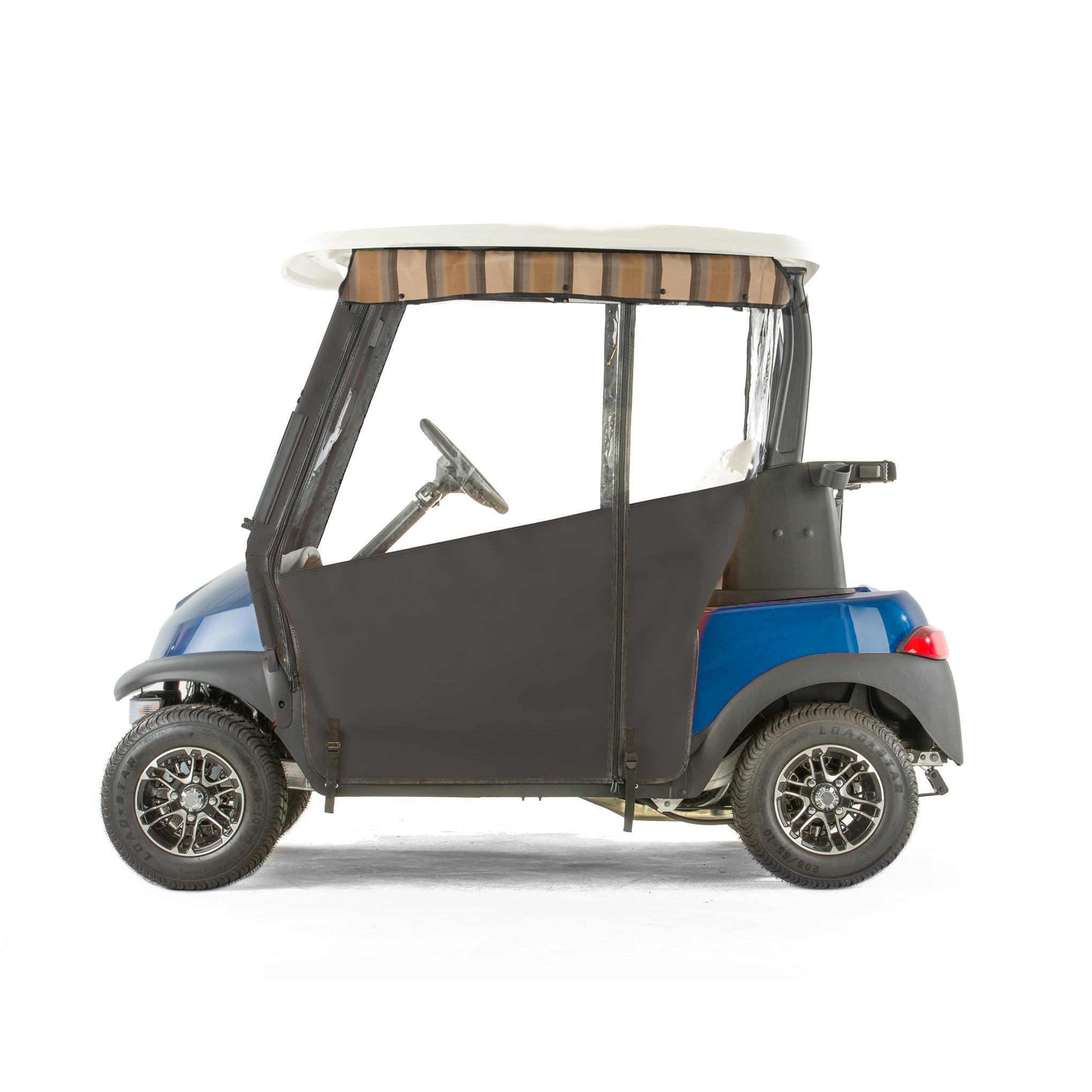 Club Car Precedent Golf Cart PRO-TOURING Sunbrella Track Enclosure Black by