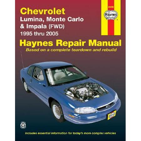 Chevrolet Lumina, Monte Carlo & Front-Wheel Drive Impala Automotive Repair - Front Left Manual