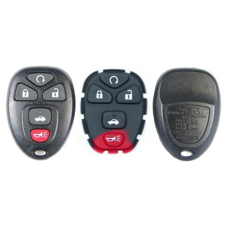 Gm Keyless Entry Remotes - New Replacement for GM Keyless Entry Remote Shell 5B