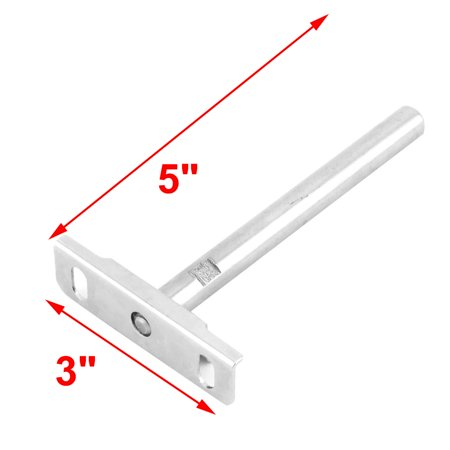 Furniture Cabinet Stainless Steel Shelf Table Support Bracket Silver Tone 3pcs - image 1 de 4