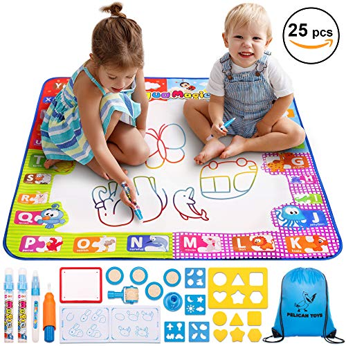 Aquadoodle 3D Doll Dress Designer Draw With Water No Mess Art Children Play Toy