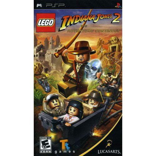 Lego Indiana Jones 2: Adventure Continues (PSP)