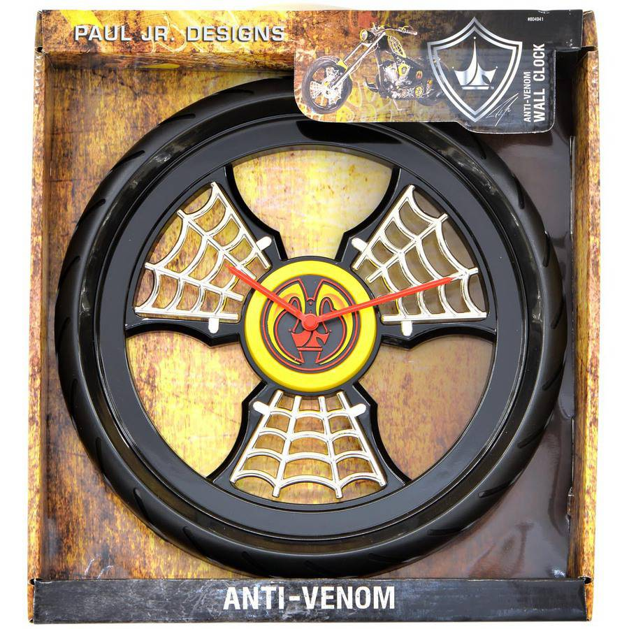 Paul Jr. Designs Wall Clock, Anti-Venom