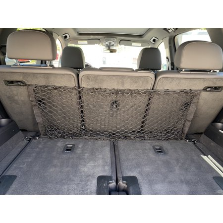Envelope Style Trunk Rear Seat Cargo Net for AUDI Q7 2017-2020