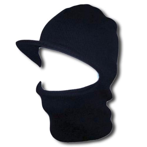 Face Ski Mask w  Visor Navy by TOP HEADWEAR