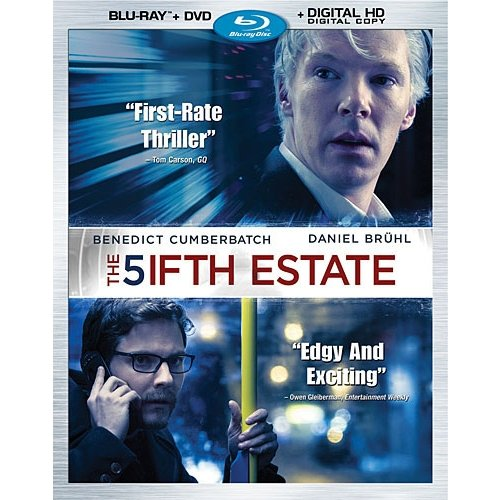 The Fifth Estate (Blu-ray + DVD + Digital Copy) (Widescreen)