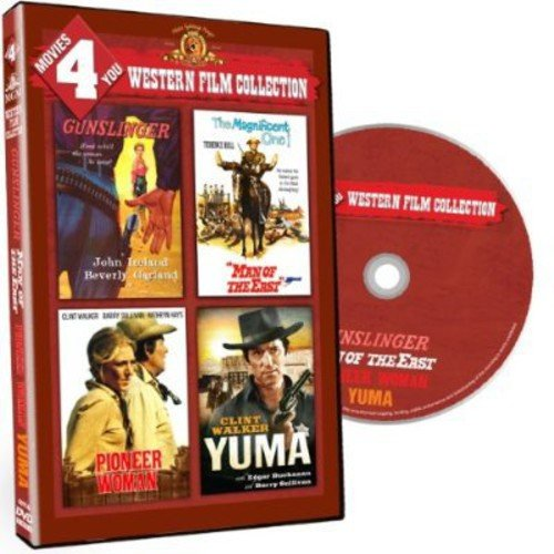 Movies 4 You: Western Film Collection - Gunslinger / Man Of The East / Pioneer Woman / Yuma