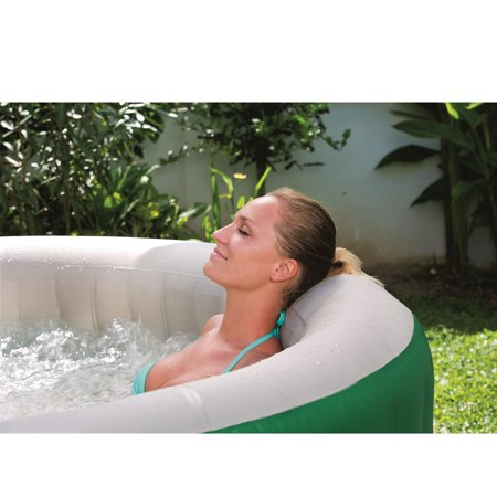 Jacuzzi Spa Jets (Coleman SaluSpa 6 Person Inflatable Outdoor Spa Jacuzzi Bubble Massage Hot Tub )
