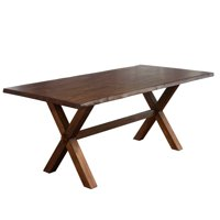 TMS Mandeville Live Edge Dining Table, Walnut