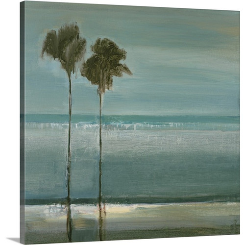 Canvas On Demand 'Paradise Cove' by Terri Burris Painting Print on Canvas by