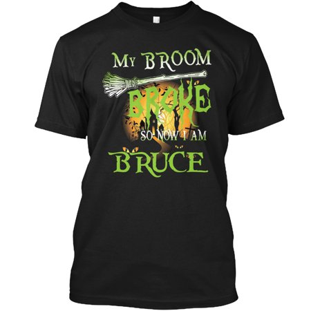 Halloween Name BRUCE Hanes Tagless Tee T-Shirt (Halloween Punch Names)