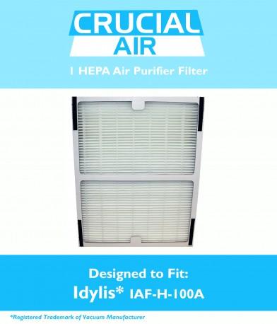 idylis a hepa air purifier filter part iafh100a