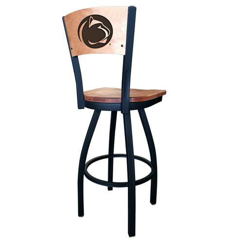 Holland Bar Stool NCAA Swivel Bar Stool with Cushion