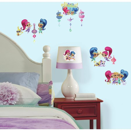 RoomMates Shimmer and Shine Peel and Stick Wall Decals. RoomMates Shimmer and Shine Peel and Stick Wall Decals   Walmart com