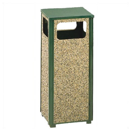 Rubbermaid Commercial Products 12-Gal Aspen Waste Receptacle (Set of 3)