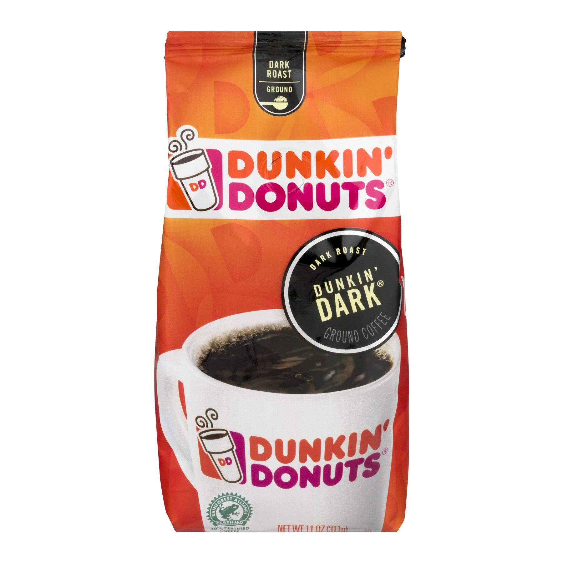 Dunkin' Donuts Dunkin' Park Dark Roast Ground Coffee, 11 oz