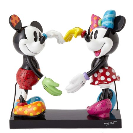 Disney by Britto Mickey and Minnie Figurine