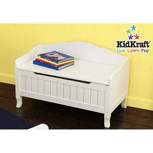 KidKraft - Nantucket Toy Box, White