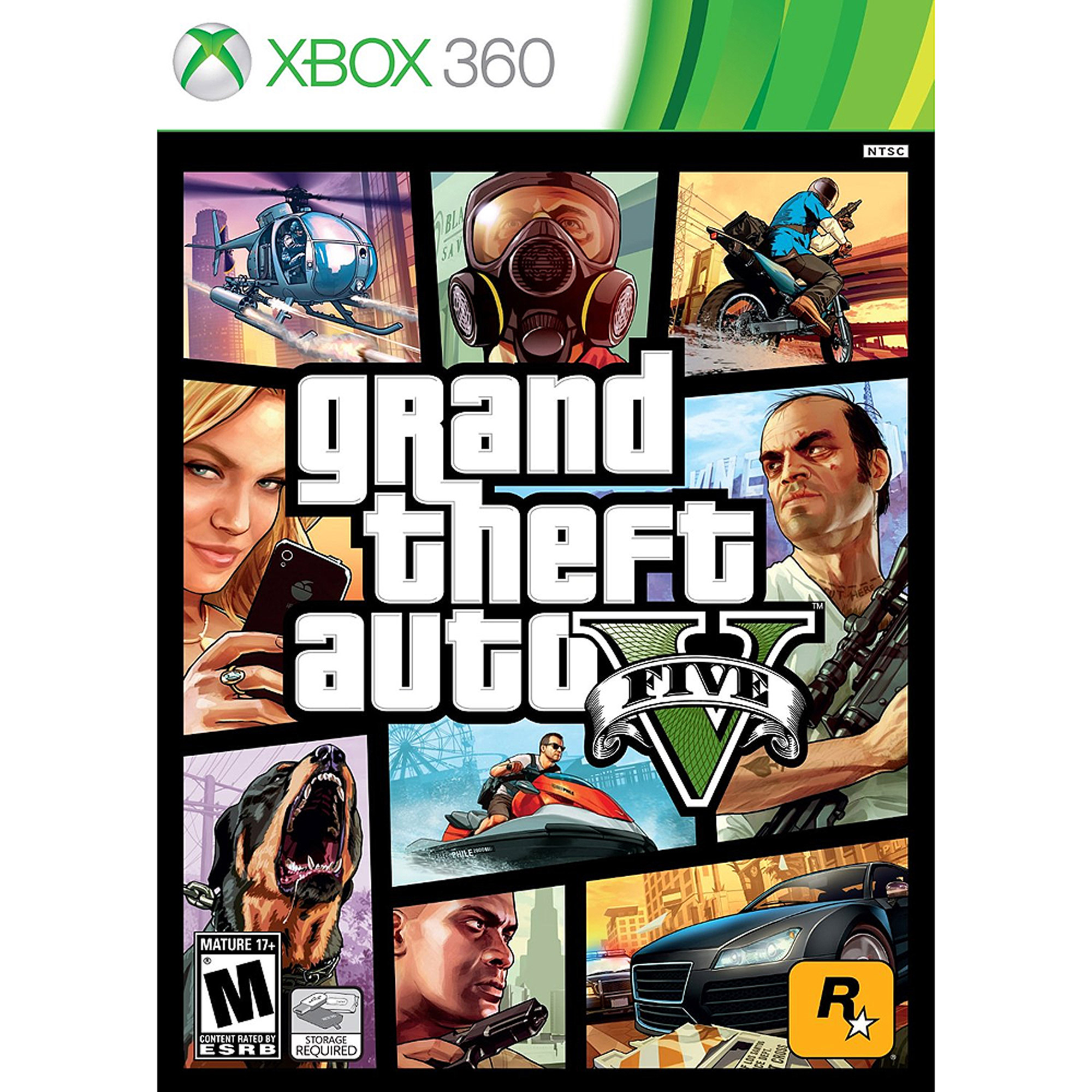 Grand Theft AutoV, Rockstar Games, Xbox 360, 710425491245