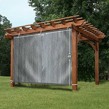 Ez2hang Outdoor Shade Cloth New Design Vertical Side Wall