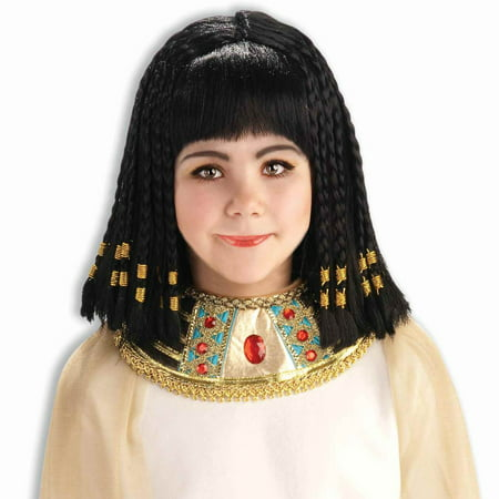 Princess Cleopatra of Egypt Girl Wig - Black Cleopatra