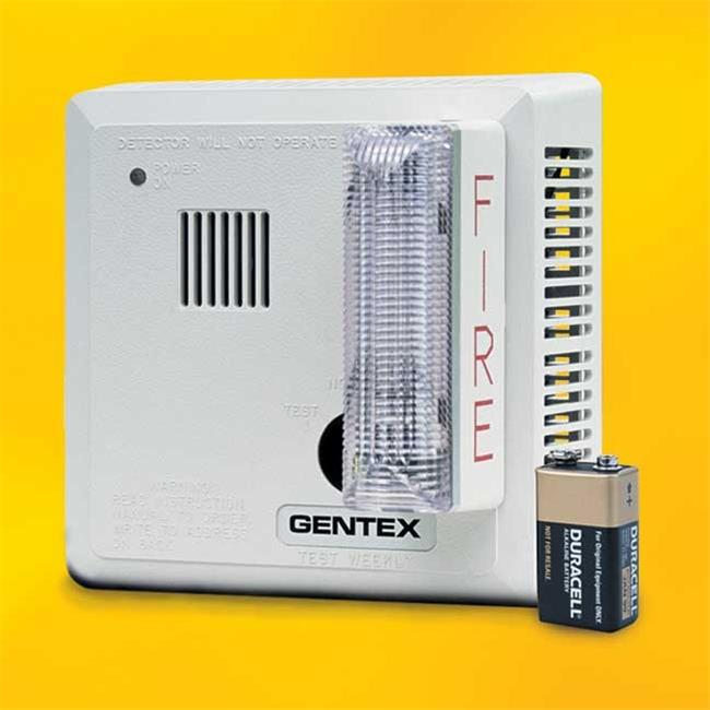 Gentex Hard Wired Ceiling Mount T3 Smoke Alarm with Backup