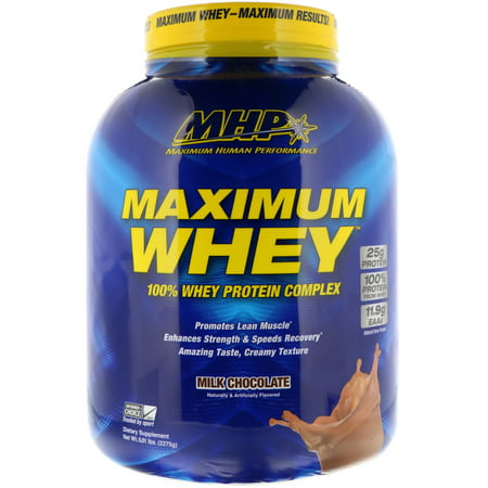 MHP Maximum Whey Milk Chocolate 5 01 lbs 2275 g