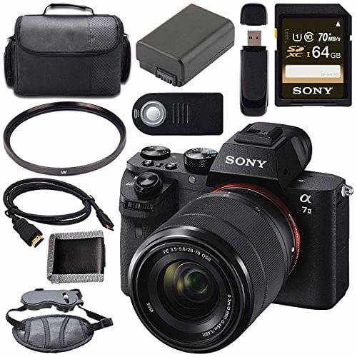 Sony ILCE7M2K/B Alpha a7 II Mirrorless Digital Camera wit...