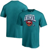 Charlotte Hornets Fanatics Branded Youth Disney NBA Muppets Play Like an Animal T-Shirt - Teal