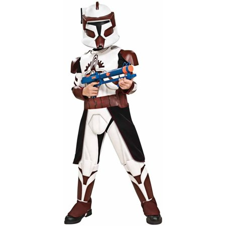 Star Wars Clone Wars Deluxe Commander Fox Child Halloween Costume (Halloween F/x)
