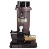 Hayward EC75 Extended Cycle DE In Ground Pool Filter System with 1 HP Pump by