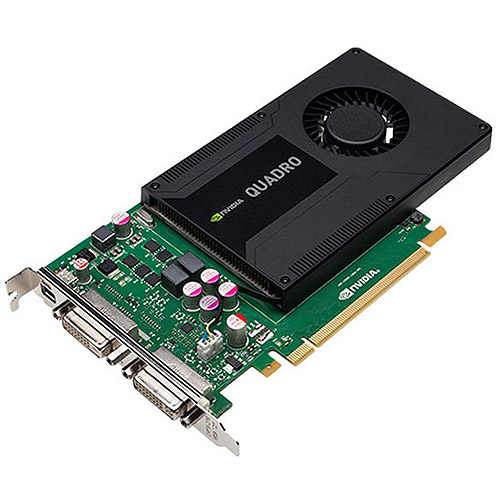 PNY Technologies Quadro K2000D PCIE Graphics Card