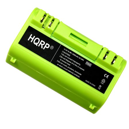 - HQRP Extended Battery for Scooba 5930 / 5800 / 5900 Series Replacement plus HQRP Coaster