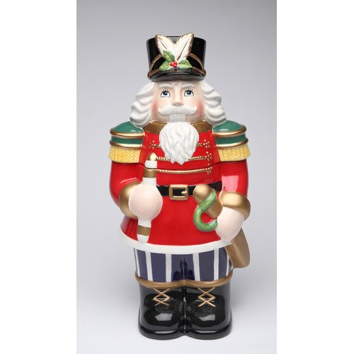 Cosmos Gifts Nutcracker Storage Jar