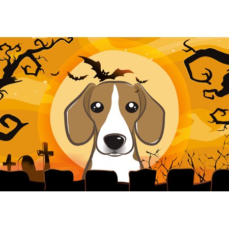 Halloween Beagle Fabric Placemat BB1797PLMT](Diy Halloween Placemats)